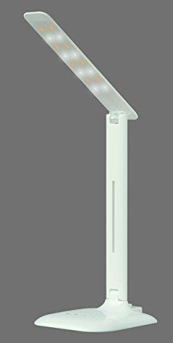6 Hitze-schalter (TRANGO® TG7490-016 LED Schreibtischlampe 6.0Watt Tischleuchte zusammenfaltbar 4Stufen Schalter dimmbar mit eingebautem USB-Anschluss zum Aufladen von Smartphones iPhone Samsung HTC 3 verschiedenen Lichtfarbe)