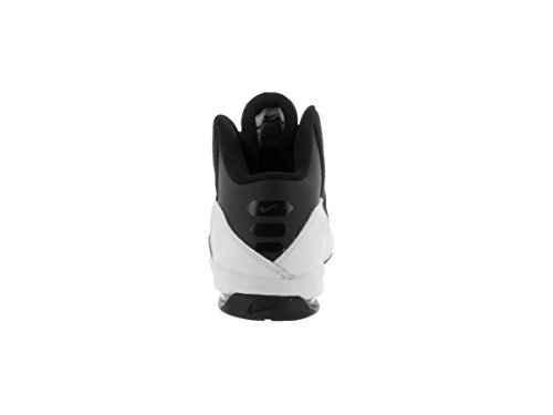 Nike Air Without A Doubt (Gs) Scarpe Da Corsa, Ragazzo Schwarz, versilbert, Weiß (Black / Mtllc Slvr-Flt Slvr-Wht)