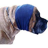 Happy Hoodie Large, Navy Blau für Big Hunde Wie Hirten, Goldens, Chow, Malamutes, Pit Bulls, Hilft Calm, Komfort und schützen Ihren Hund -