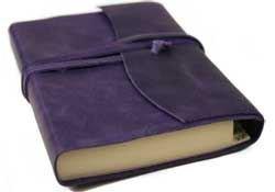 Aubergine Italienisch (Capri Adressbuch handgefertigt mit Italienisches Ledereinband Aubergine Small (13cm x 9cm x 2cm))