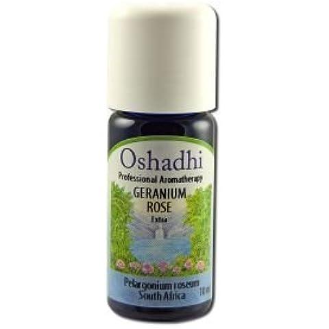Oshadhi Geranium Rose Extra Org 10ml Essential Oil Singles by