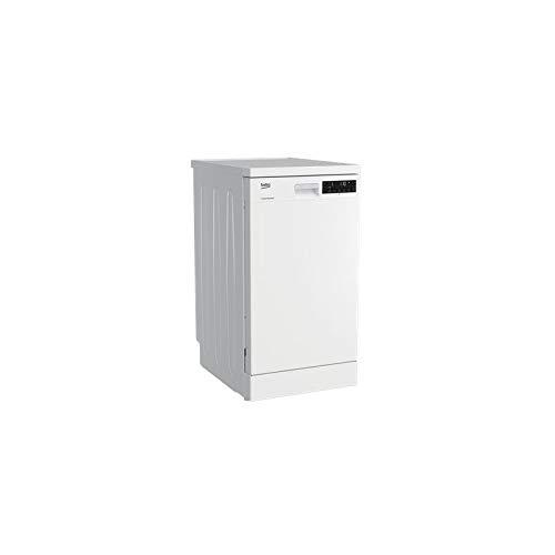 Beko DFS28021W lave-vaisselle Autonome 10 places A++ - Lave-vaisselles (Autonome, Blanc, Compact (45 cm), Statique, 10 places, 46 dB)