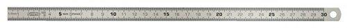 KS Tools 3000103 Flexibler Stahlmaßstab, 250 mm