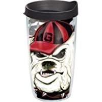 Tervis Tumbler Georgia Bulldogs Guy Harvey Wrap 16oz with Travel Lid by Tervis