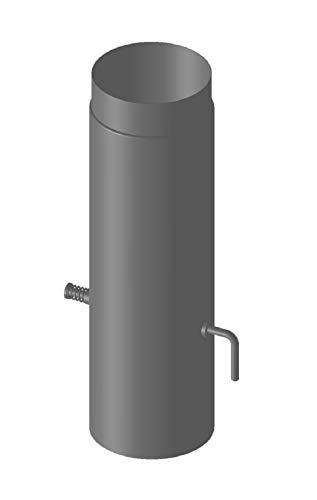 Duratherm - Tubo con Válvula para Chimenea para estufa 150 mm de...