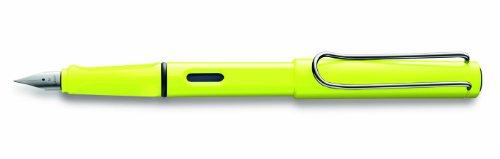 Lamy - Füllfederhalter Safari Neon hochglänzend, Stahlfeder, Breite: M, Lieferung in Lamy-Geschenkbox.