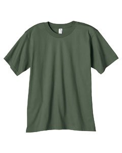 Amboss 490B Youth 4,5oz, 100% zertifizierter Bio Ringgesponnene Baumwolle T-Shirt, Unisex-Kinder Jungen, City Green, X-Large -