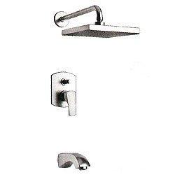 La Toscana 89PW797 Lady Pressure Balance Tub/Shower Faucet, Brushed Nickel by La Toscana