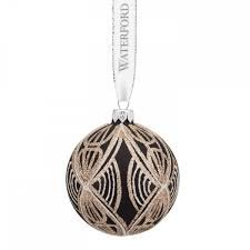 Waterford Bow Tie Ball Ornament by Waterford -