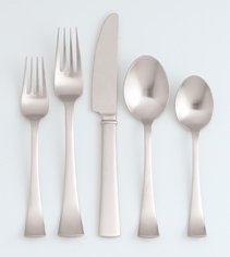 Dansk Cafe Blanc Fw 5 Piece Place Setting by Dansk Dinnerware