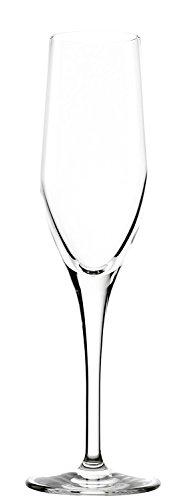 Stölzle Lausitz Exquisit Sektkelche, 175ml, 6er Set Sektgläser, spülmaschinenfestes Gläser-Set für Schaumwein, hochwertige Qualität aus Kristallglas