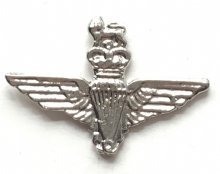 PARA WINGS VERGOLDET EMAILLE, &CUT OUT MILITARY, EMAILLE (Schablone Militärische)