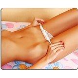 Luxlady Gaming Mousepad Beautiful corpo di giovane donna sul letto Image ID 4771264