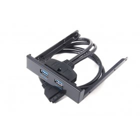CY USB 3.02Port Front Panel-Pin-für 3,5Floppy Bay