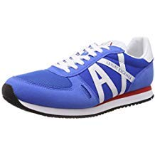 Sneakers Armani Exchange Uomo XUX017 XV028 Bluette 43½