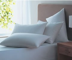 Luxury Twin Pack King Size Extra Large Soft Touch Microfibre Pillows 47cm x 90cm (19″x36″)