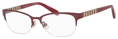 Eyeglasses Kate Spade Valary 0WA6 Burdg Diamond