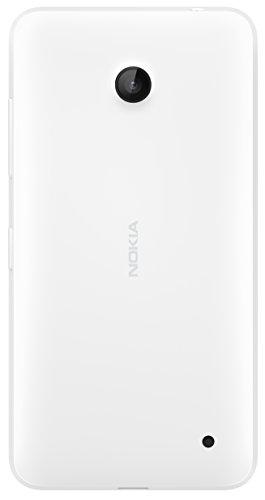 Nokia CC-3079 Clip-On Hard Shell Case Cover for Nokia Lumia 630/635 - Weiß