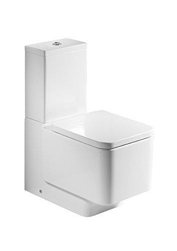Roca a801572004–Element–Gepolsterte Sitz des Water Fall Weiß