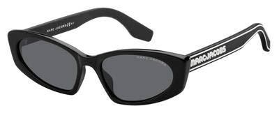 Marc Jacobs Sonnenbrillen Marc 356/S Black/Grey Damenbrillen