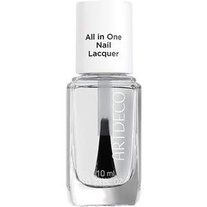 Artdeco Nagellack All in One Lacquer, 1er Pack (1 x 10 ml) - Lack-base Coat-clear Coat