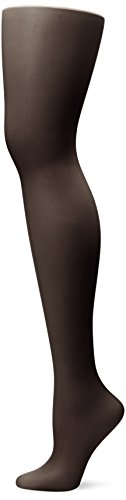L'eggs Women's Sheer Energy Toe Pantyhose, Jet Black, Q (Schiere Denier 10)