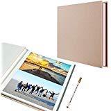 Fotoalbum, selbstklebend, 40 Seiten, magnetisch, mit Metallstift -