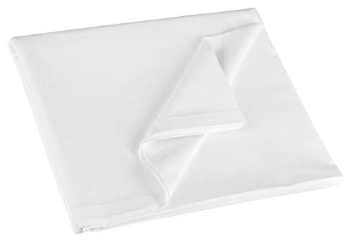 ZOLLNER Bettlaken Baumwolle, 300x300 cm (weitere verfügbar), Hotelqualität