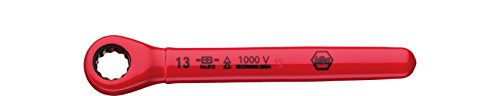 Wiha Ratschen-Ringschlüssel isoliert (36669) 13 mm