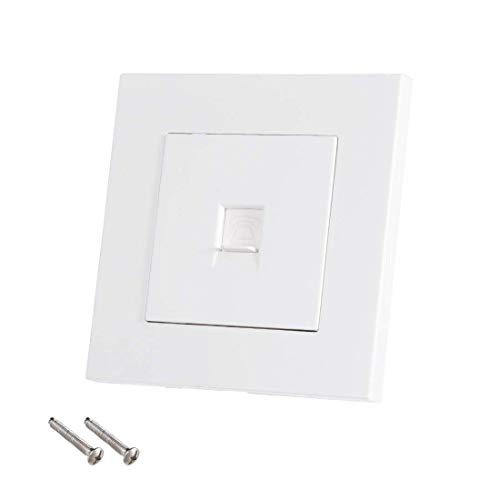 ZCHXD 86 Type RJ11 Wall Plate Socket Telephone Direct Connection Female Jack Jack Wall Plate
