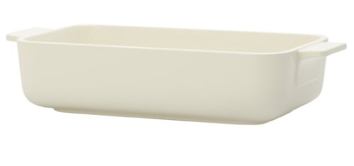 Villeroy & Boch Clever Cooking Rectangular Baking Pan, 24 x 14 cm, Premium Porcelain, White