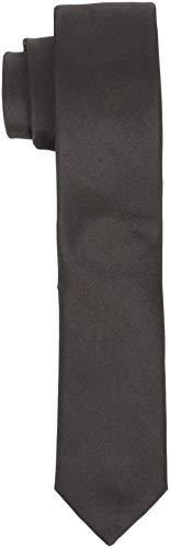 SELECTED HOMME Slhplain Tie 5cm Noos B Cravatta, Marrone (Demitasse Demitasse), Taglia unica Uomo
