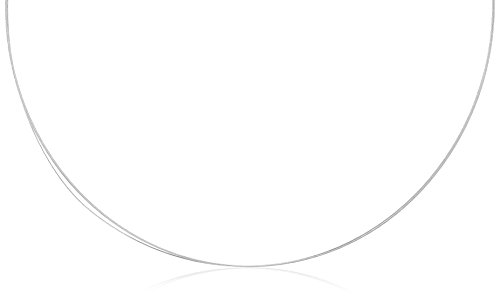 Drachenfels Luxus Halsreif aus Edelstahl | Dreireihiger Stahlreif mit Edelstahlbajonett Ø 2 mm | Halsreif für Anhänger | Länge 50 cm | D-ESC-3-50/ES
