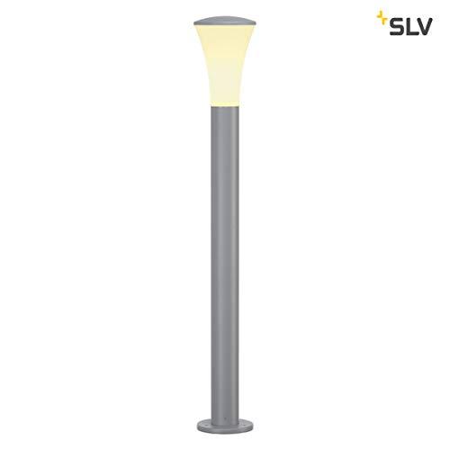 SLV LED Pollerleuchte ALPA CONE | Design Außen-Standleuchte, stilvolle Außenbeleuchtung | Outdoor LED Wege-Leuchte, Außenleuchte, Weg-Beleuchtung, Garten-Lampe, Gartenbeleuchtung | E27, A-A++, max 24W