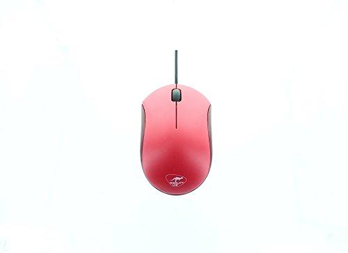 Mobility Lab ML308012 Wired Optische Mini Maus für Apple Mac und PC-rot