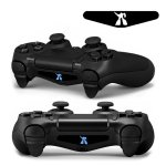 RISHIL WORLD 4 PCS Cool Light Bar Sticker Decal Sticker for Playstation 4 Controller DualShock 4