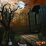 sjoloon 10ft x 10ft Halloween Vinyl Foto Hintergrund Fotografie Hintergrund Moon Night Hintergrund Studio Prop jlt-10