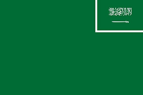 magFlags Drapeau XL+ Arabie Saoudite | Drapeau Paysage | 2.4m² | 120x200cm