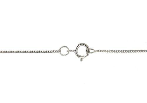 Tuscany Silver Collar unisex con plata de ley, 46 cm