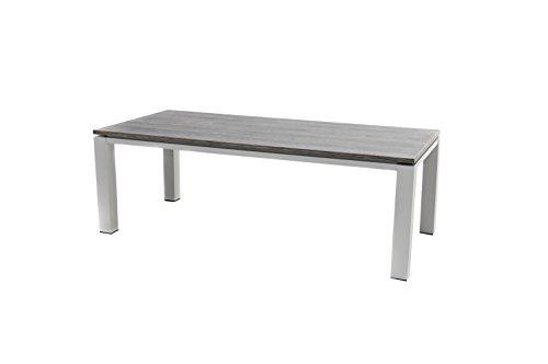 Ploß Diningtisch Nevis für 8 bis 10 Personen - Alutisch mit kratzfester Tischplatte - Gartentisch...