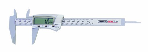 general-tools-146-fraction-plus-digital-fractional-caliper-carbon-fiber-6-inch-by-general-tools