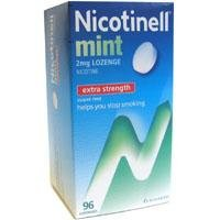 Nicotinell Extra Strength Nicotine Gum Mint Flavour 96 pieces by Nicotinell