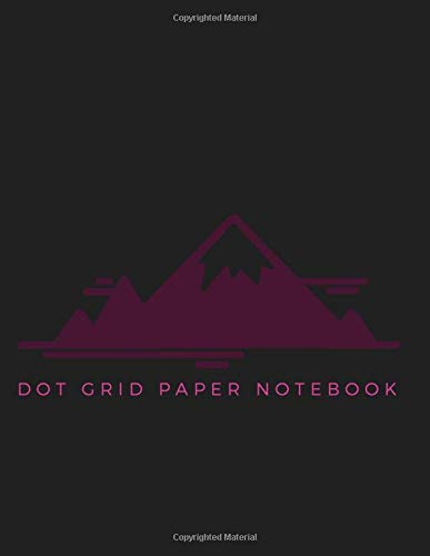 Dot Grid Paper Notebook: Dot Grid Paper Graph Dotted Journal Notebook Large 8.5 x 11 inches - 104 pages (Volumn 29)