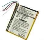 Batterie für Microsoft Zune HVA-00007 HVA-00018 HVA-00020 HVA-00030 3.7V 600mAh (Zune-flash)