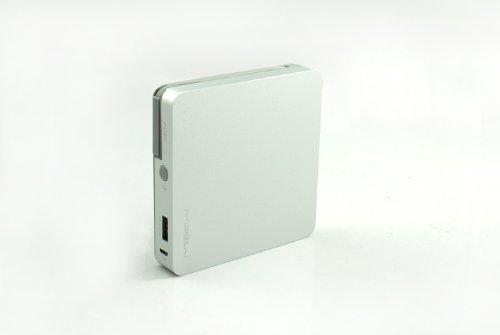 MiPow power cube 8000 m-mobile pour smartphones etc. Micro USB lilas argent