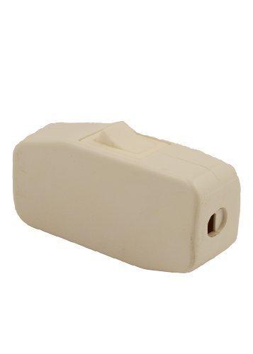 Leviton 5410-W Appliance Switch, Feed Thru Switch Rocker; Single Pole, Single Throw; 3A-125V Ac. White. by Leviton Appliance Rocker Switch