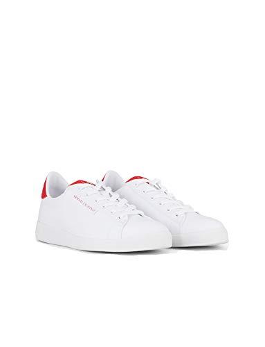 Armani Exchange Sneakers Uomo XUX042 XV157 Bianco 43