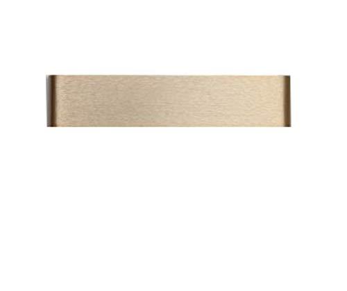 žMNŽ Smart Body Sensor Licht, Einfache Schlafzimmer Wandlampe Nachttisch Lampe Wohnzimmer Gang Wand Lampe Treppe Wand Outdoor Wandleuchte - Gold - Aluminium Große Outdoor-wandleuchte