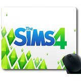 Neue Benutzerdefinierte faszinierenden Mauspad mit Die Sims 4Maxis Software 2014PC MAC rutschfestem Neopren Gummi Standard Größe 22,9cm (220mm) X 17,8cm (180mm) X 1/20,3cm (3mm) Desktop Mousepad Laptop Mousepads bequem Computer Mauspad
