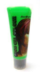 Stargazer Neon Colour Hair Gel 50ml Green by (Gel Grün Haarfarbe)